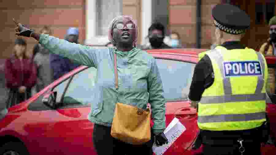 As forças policiais de Inglaterra e País de Gales serão investigadas por possível atuação racista  - Jane Barlow/PA Images via Getty Images