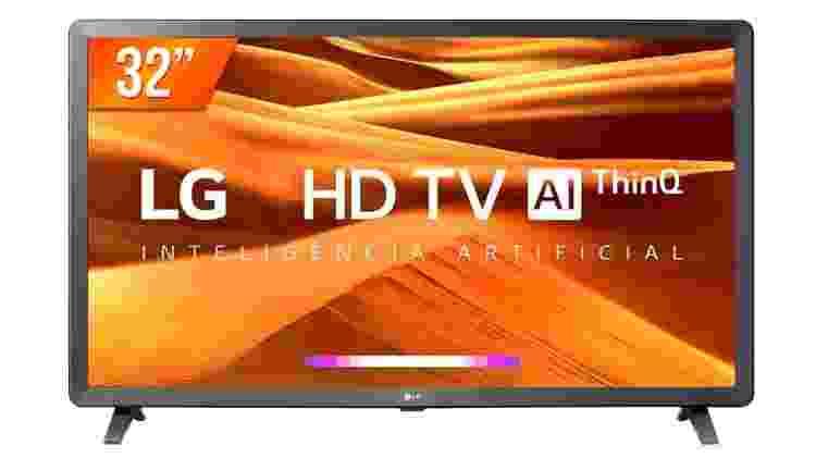 """Smart TV LED 32"""" HD LG 32 - Divulgação - Divulgação"""