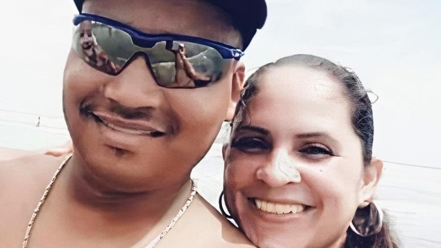 """Jussara Xavier Raimundo e Florisvaldo Neto Xavier desapareceram após cabeça d""""água em rio - Reprodução"""