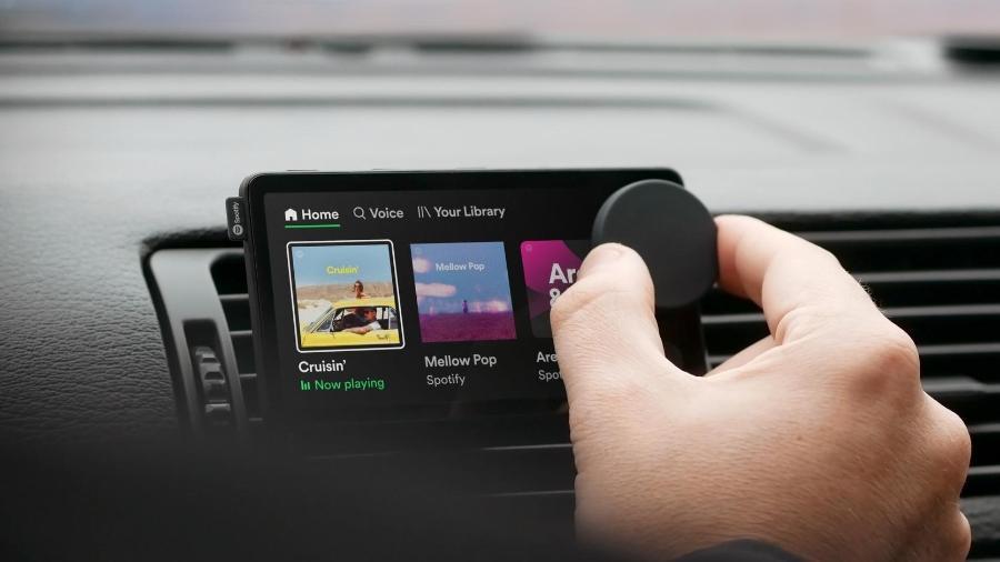 Car Thing, acessório do Spotify - Divulgação