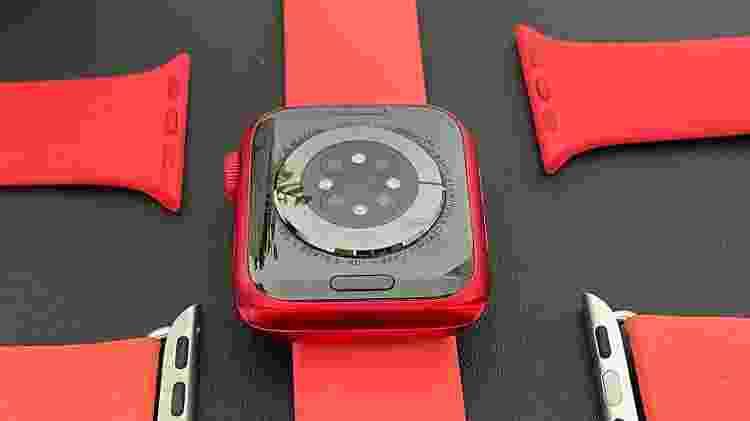 Apple Watch Series 6: sensores - Bruna Souza Cruz/Tilt - Bruna Souza Cruz/Tilt