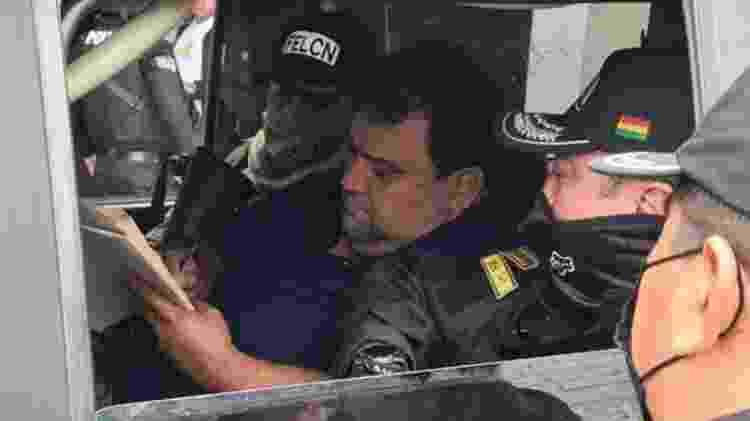 Jesus Einar Lima Lobo - Divulgação/Ministério do Governo da Bolívia - Divulgação/Ministério do Governo da Bolívia