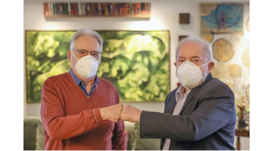 FHC e Lula em encontro na casa do ex-ministro do Supremo Nelson Jobim.  As divergências não anulam pacto civiizatório - Ricardo Stuckert/Divulgação