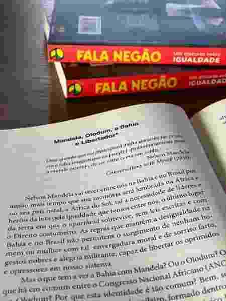Trecho do livro Fala Negão, de João Jorge Rodrigues - Divulgação - Divulgação