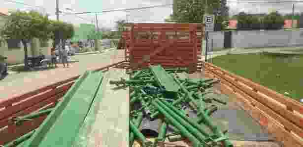 PM recupera materiais furtados da obra da transposicao do rio Sao Francisco avaliados em R$ 2 milhões - SSP - Ceará/Divulgação