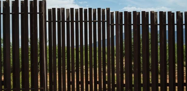 Muro na fronteira Estados Unidos e México