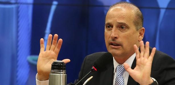 O relator do pacote de medidas de combate à corrupção na Câmara, deputado Onyx Lorenzoni (DEM-RS)