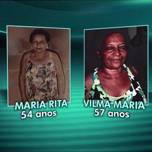 Maria Rita Alves dos Santos foi reconhecida como morta no lugar de Vilma Maria Caboclo Alves - Reprodução/TV Globo