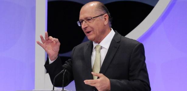 Geraldo Alckmin participa de debate entre presidenciáveis na TV