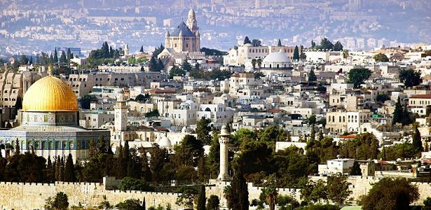 Jesusalém, cidade sagrada para muçulmanos e judeus, é um dos principais pontos de atrito entre Israel e a Palestina