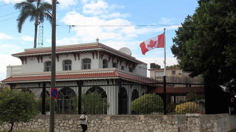 Embaixada do Canadá em Cuba - Stringer/Reuters