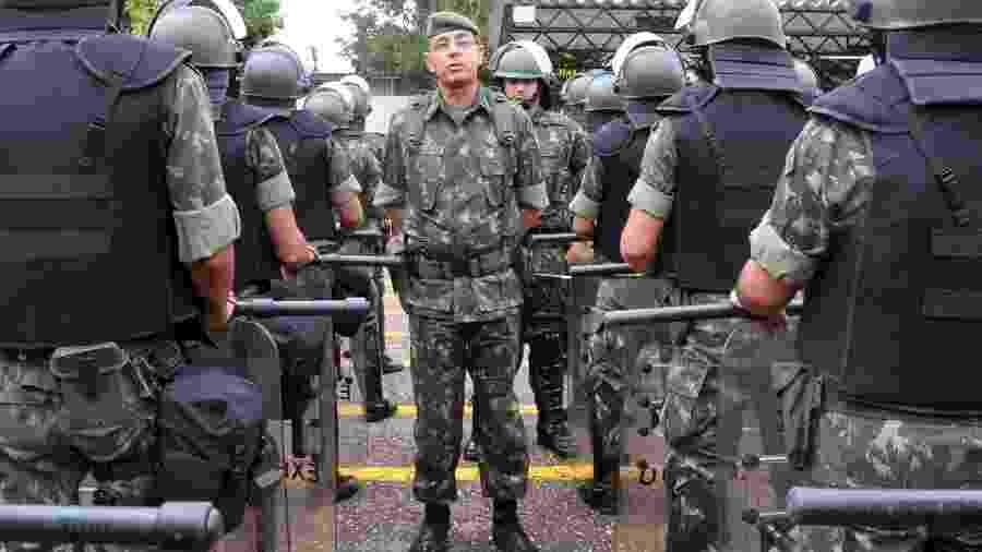 General do Exército João Carlos Jesus Corrêa pediu afastamento na última sexta-feira (4) - Elza Fiuza/ABr