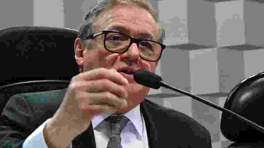 26.fev.2019 - Comissão de Educação, Cultura e Esporte realiza audiência pública com o ministro da Educação, Ricardo Rodríguez - Geraldo Magela/Agência Senado