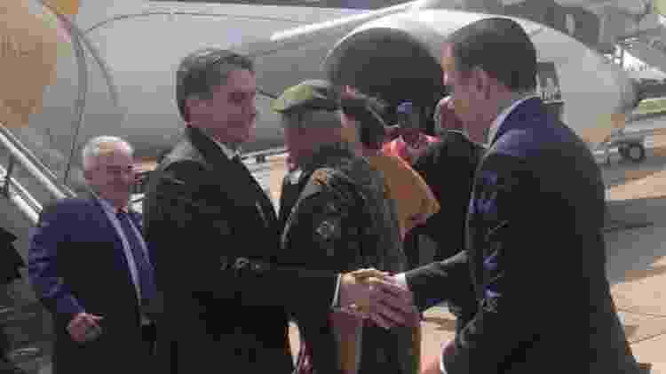 Bolsonaro e Doria - Reprodução/Facebook - Reprodução/Facebook