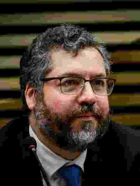 O ministro das Relações Exteriores, Ernesto Araújo - Aloisio Mauricio/Fotoarena/Estadão Conteúdo