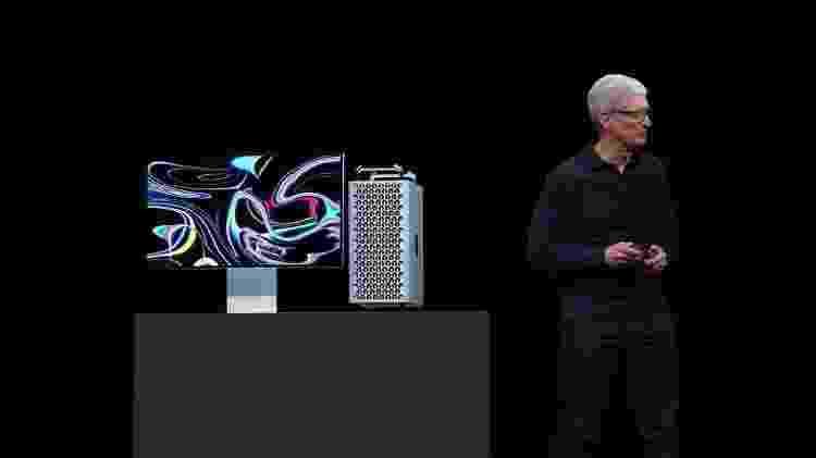 Apple voltou às raízes dos PCs ao revelar o novo Mac Pro - Reprodução