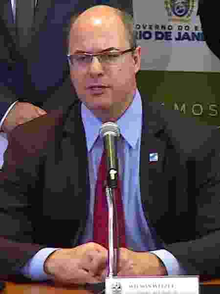 O governador do Rio, Wilson Witzel (PSC) - Reprodução