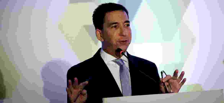 Glenn Greenwalenwald, um dos fundadores e Intercept, no 25º Seminário Internacional de Ciências Criminais - Aloisio Mauricio/Estadão Conteúdo