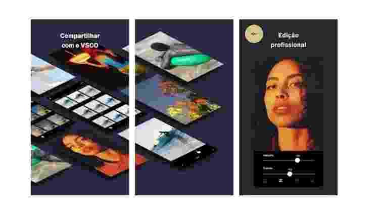 VSCO: aplicativos para digital influencer - Reprodução - Reprodução