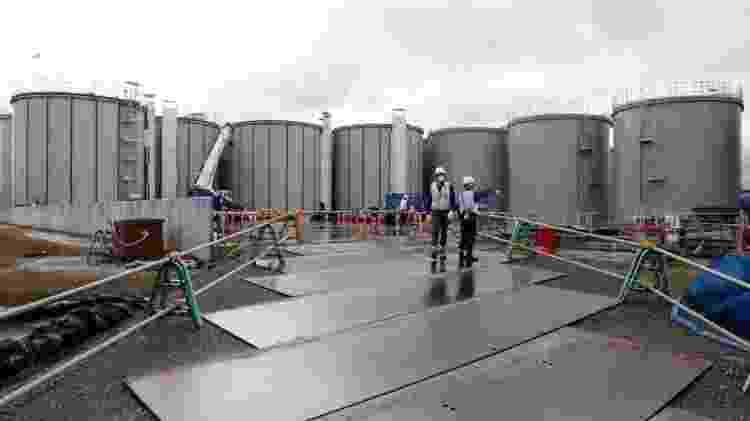 Usina de Fukushima, no Japão - AARON SHELDRICK - AARON SHELDRICK