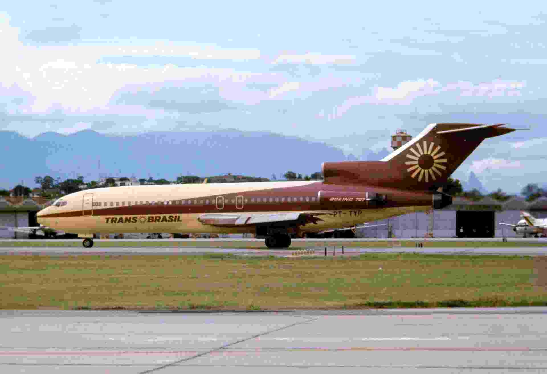 Primeiro projeto de pintura de avião foi feito aos 12 anos de idade para a TransBrasil - Gianfranco Beting