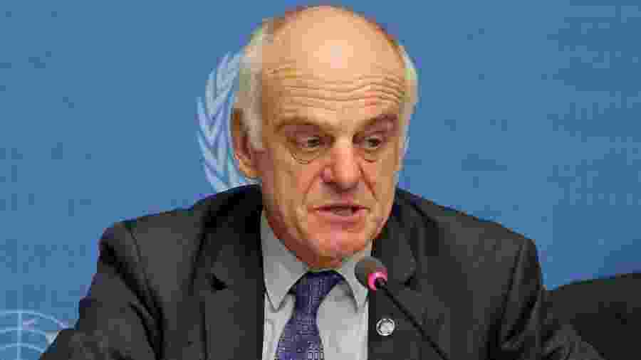 David Nabarro é enviado especial da OMS para covid-19 - Getty Images