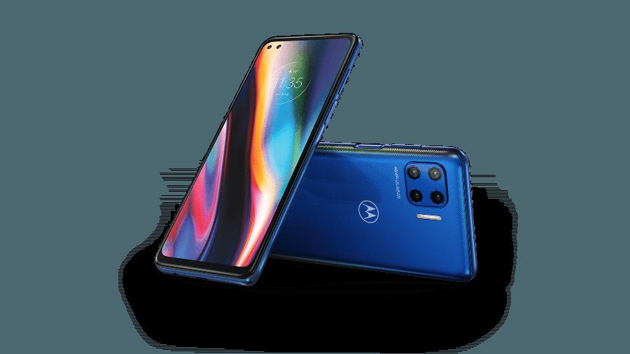 Moto G 5G trabalha com uma tela de 6,7 polegadas com taxa de atualização de 90 Hz - Divulgação