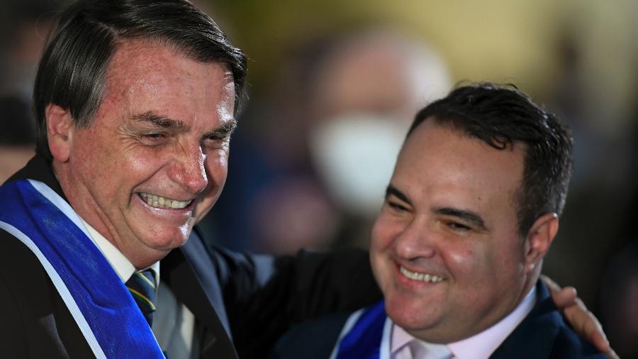 """O ex-major da PM e atual ministro do TCU Jorge Oliveira, que Bolsonaro chama de """"Jorginho"""" -"""