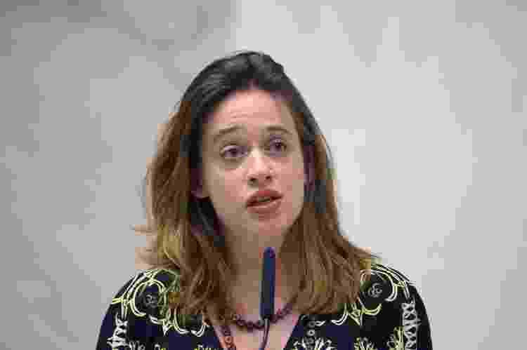 A deputada estadual Isa Penna (PSOL), que processa Fernando Cury por assédio sexual - José Antonio Teixeira/Alesp - José Antonio Teixeira/Alesp
