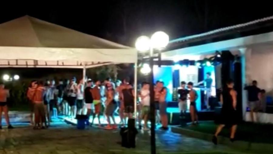 Polícia encerra festa clandestina em Pernambuco - Procon-PE/divulgação