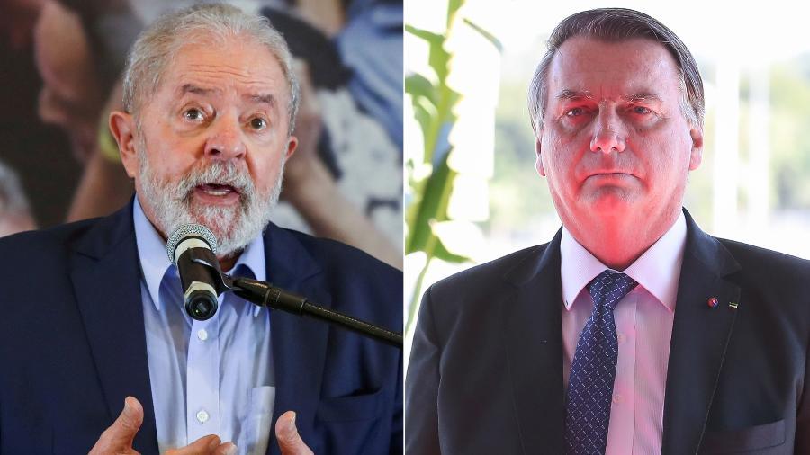 Lula e Bolsonaro - Amanda Perobelli/Reuters e Marcos Corrêa/Presidência da República
