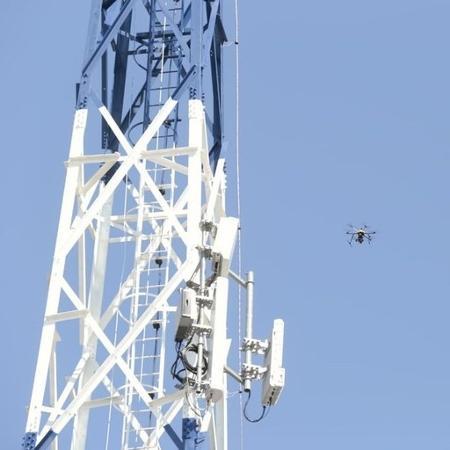 Antena 5G instalada em fazenda modelo em Rondonópolis (MT) - Guilherme Martimon/Mapa