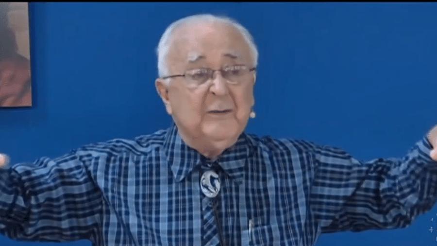 Pastor Joaquim Gonçalves Silva, 85, foi acusado de abuso sexual - Reprodução/Tv Anhanguera