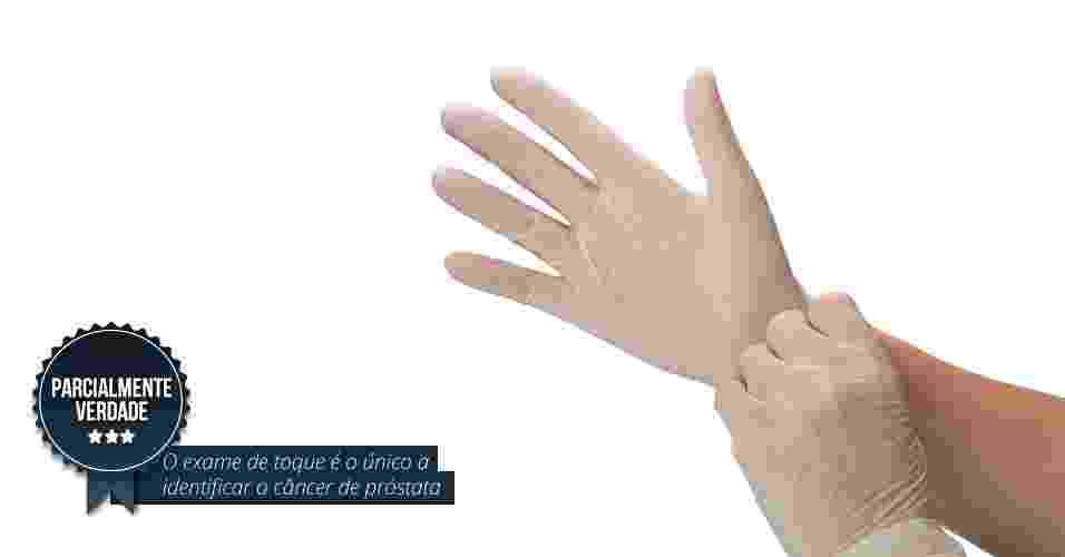 2.jun.2015 - O exame de toque retal é o único a identificar o câncer de próstata. Parcialmente verdade. O exame que provoca pânico nos homens não é o único, mas precisa ser realizado em conjunto com outro exame, o de sangue, para identificar a taxa de PSA (antígeno prostático específico). O PSA é uma substância produzida pelas células da glândula prostática. Os dois exames são complementares e um não exclui o outro - iSotck