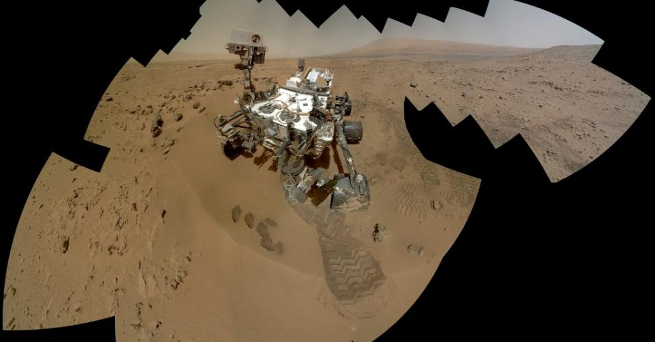 Robô Curiosity não pode passar por zonas de Marte com potencial de vida