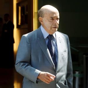 O governador do Rio de Janeiro em exercício, Francisco Dornelles