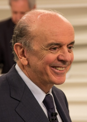 O ministro das Relações Exteriores, José Serra, participa do programa Roda Viva, da TV Cultura