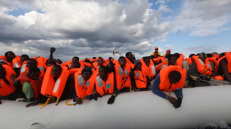 Pelo menos 453 migrantes morreram afogados no Mediterrâneo desde o início de 2021 - Yannis Behrakis/Reuters