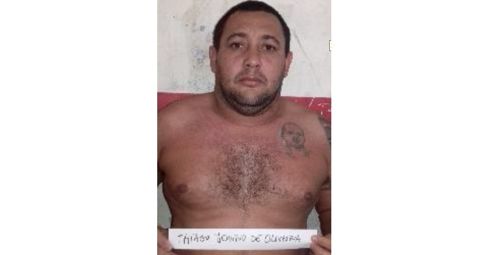 Thiago Juvino de Oliveira; crime: tráfico e roubo