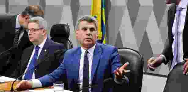 Senador Romero Jucá apresentou parecer favorável à reforma em comissão do Senado - Edilson Rodrigues/Agência Senado