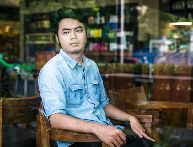 Nguyen Anh Tuan, um ativista de direitos humano que foi interrogado pela polícia em 2011, no Vietnã