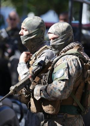 10.jul.2017 - Operação do Bope na Cidade de Deus terminou com 2 mortos e feridos