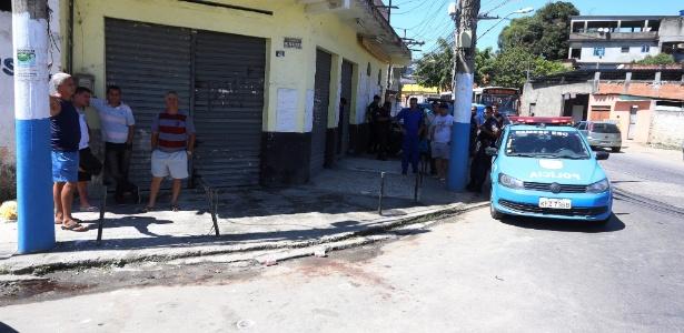 O sargento Fabio José Cavalcante e Sá , 39, foi assassinado neste sábado (26) quando chegava na casa dos pais - Fabiano Rocha/Agência O Globo