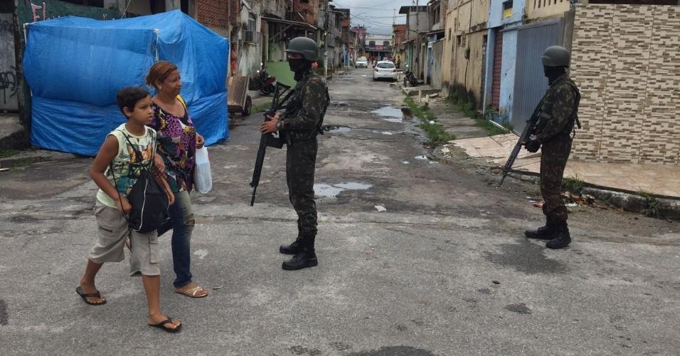 23.2.2018 Operação na Vila Aliança, zona oeste do Rio de Janeiro