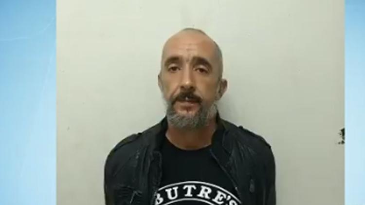 Cristian Cravinhos ao ser preso em 2018 - Reprodução/Record TV - Reprodução/Record TV