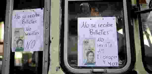 Placa - Federico Parra/AFP - Federico Parra/AFP