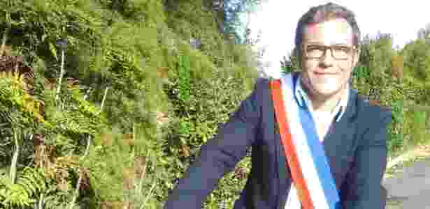 """O prefeito de Dolus-d""""Oléron, Grégory Gendre, quer barrar a chegada do McDonald""""s - Divulgação"""