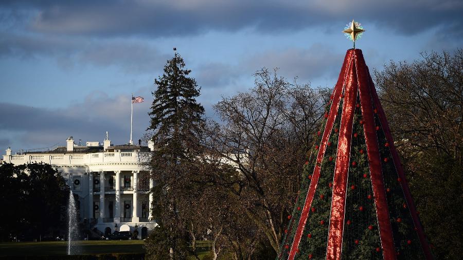 A Casa Branca fica em um parque nacional e seu centro de visitas está fechado - Brenda Smialowski/AFP