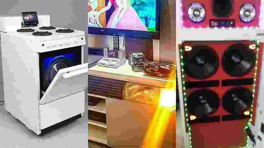 Eletrodomésticos tunados que bombaram no Twitter - Reprodução