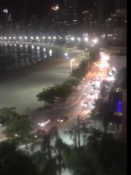 Carreata pelo fim da quarentena em Balneário Camboriú (SC) - Reprodução/Twitter